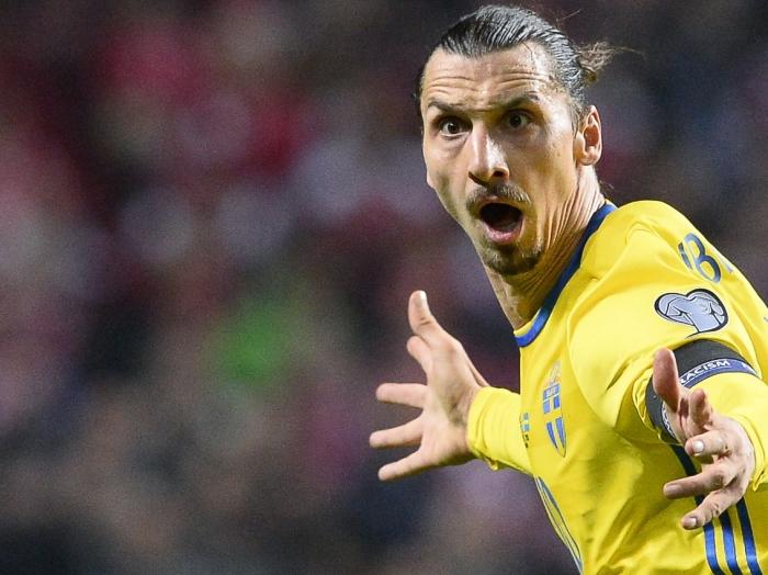 Zlatan Ibrahimovic brauchte gegen Irland vier Minuten, bis er den ersten Ballkontakt hatte.